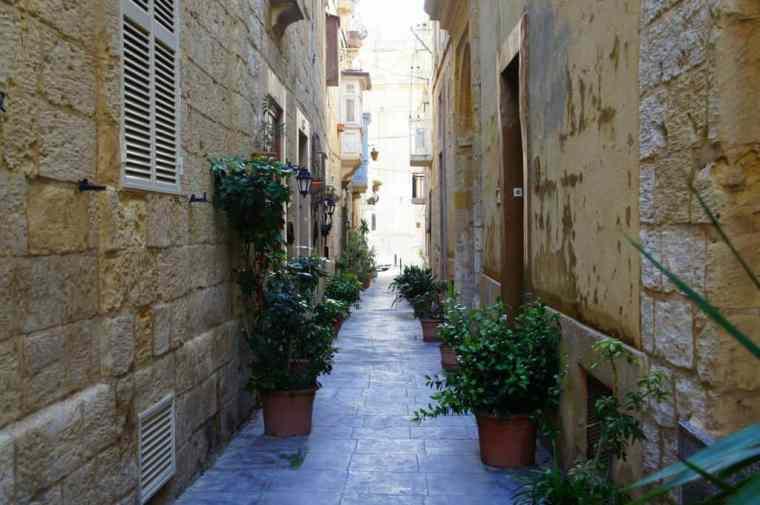 Charming Alley in Malta