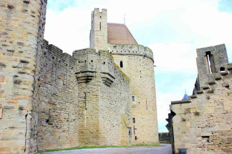 Carcassonne castle in France