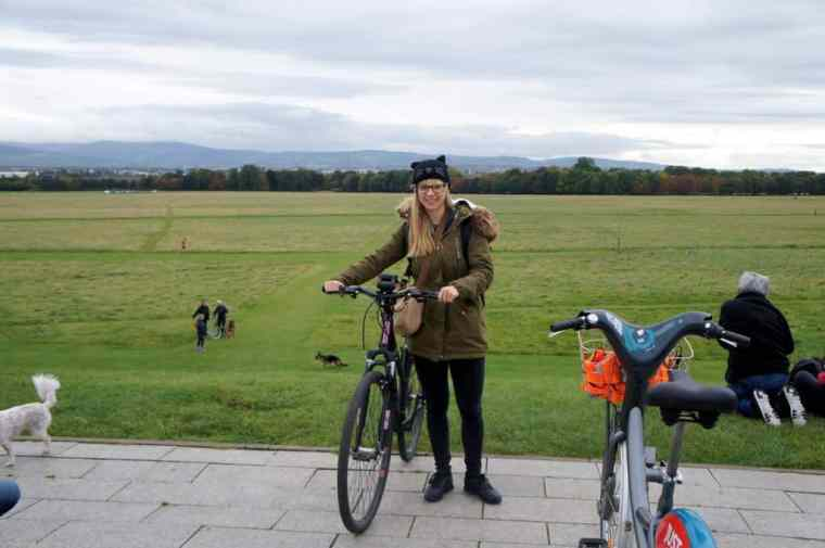 Agness cycling in Dublin