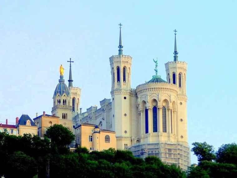 The Basilica of Notre-Dame de Fourvière