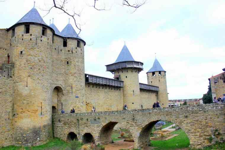 View over Carcassonne