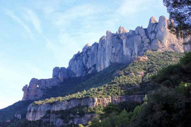 Monserrat landscape