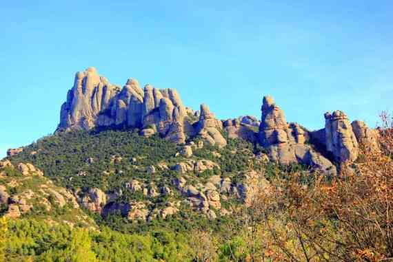 Scenery in Monserrat