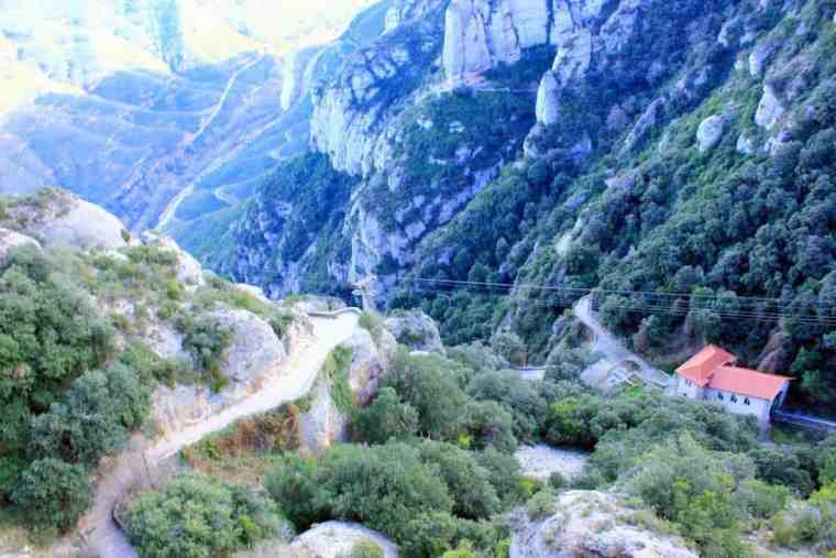 View from above Monserrat