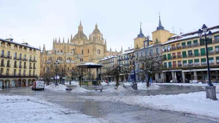 Walking around in Spain