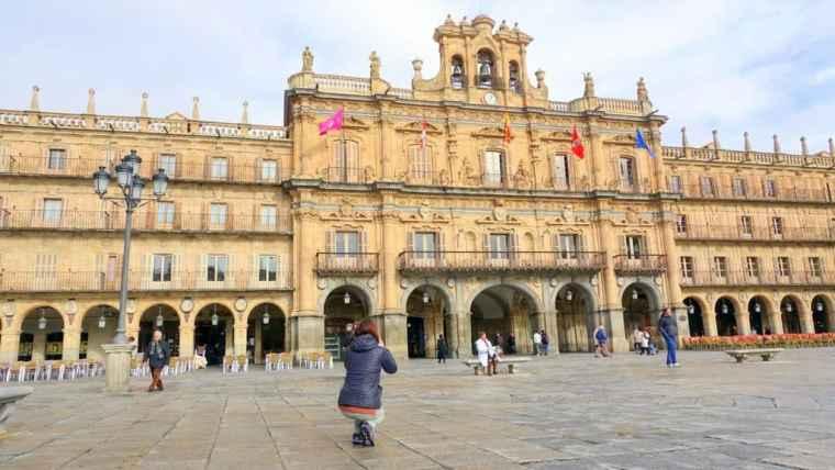 Lydia in Salamanca