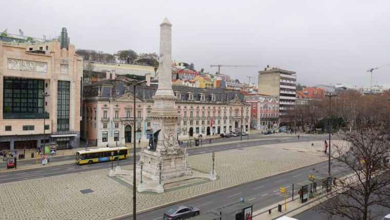 View of Lisbon from the Goodmorning hostel