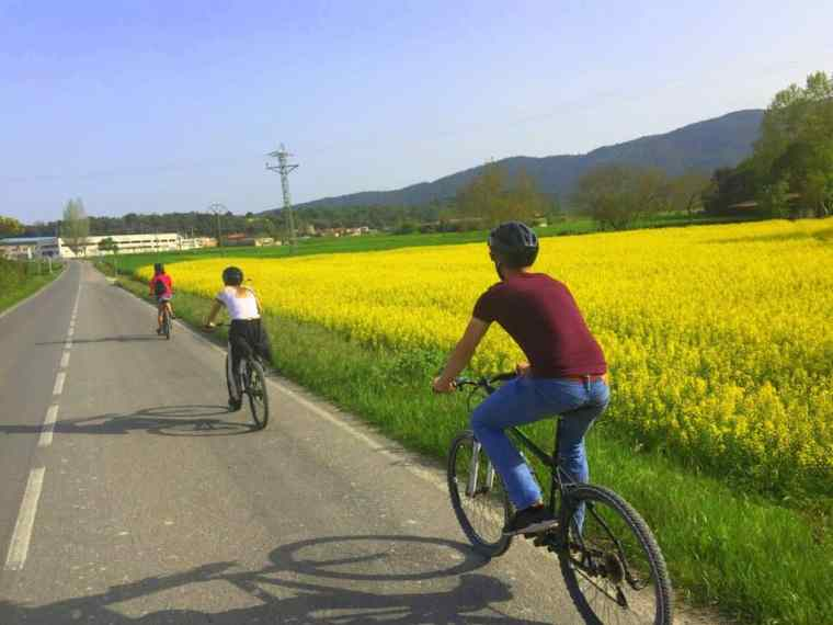 On your bike – a popular pastime in Banyoles