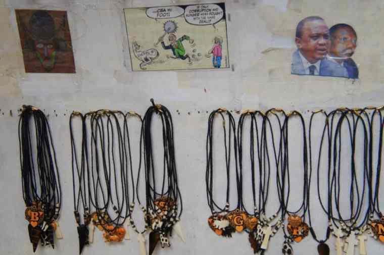 Souvenirs in Nairobi, Kenya