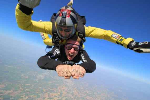 Skydive in Costa Brava