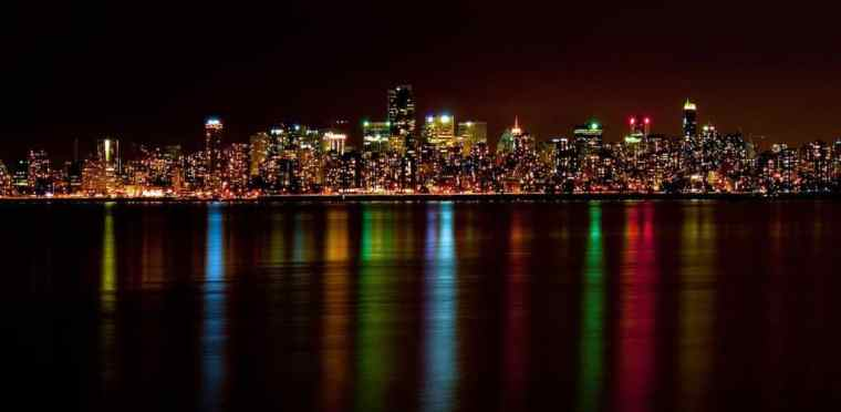 Vancouver at night – come prepared!