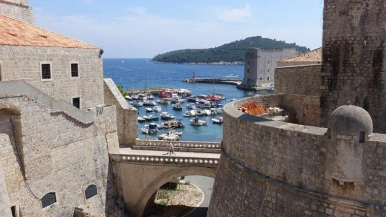 Pile Gate and the Walls of Dubrovnik