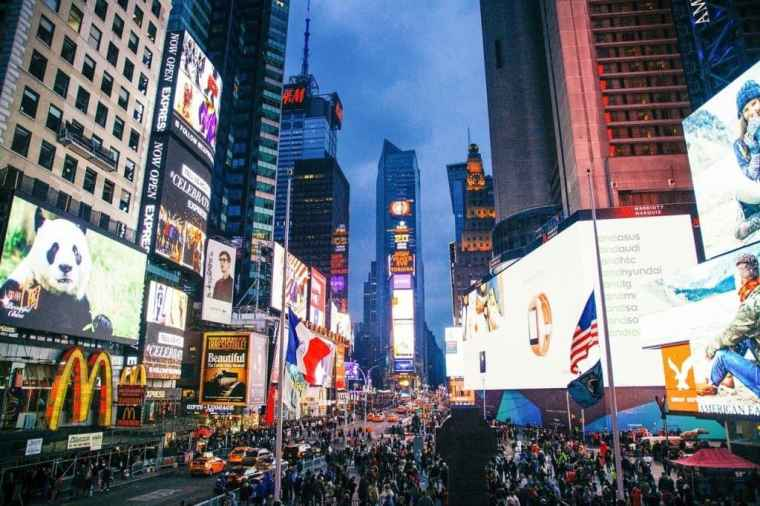 Times Square NYC itinerary