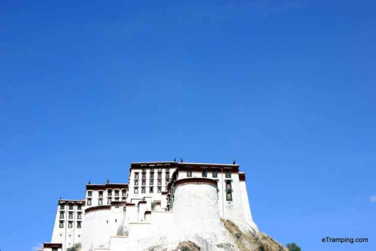 """Potala palace, more precisely """"White Palace"""" part"""