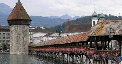 If You Visit Lucerne Switzerland, You Will Wish to Never Go Away