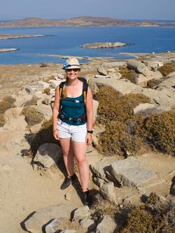 Amandine en Grèce