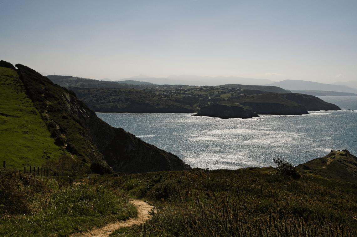 Le long de la côte à Plentzia