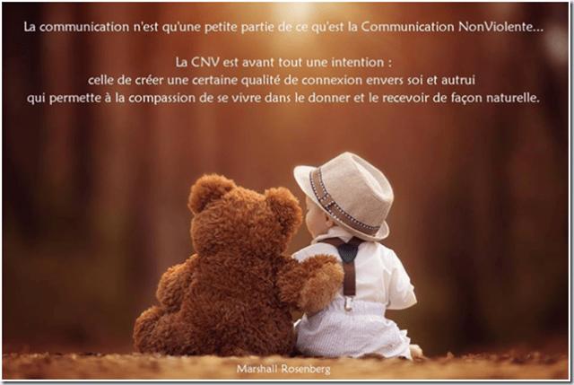CNV intention communication connexion