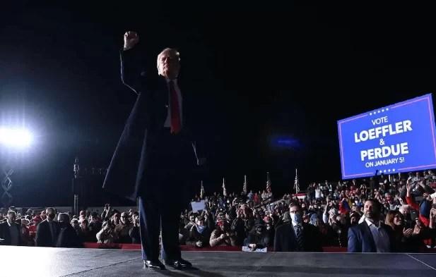 Donald Trump's risky strategy