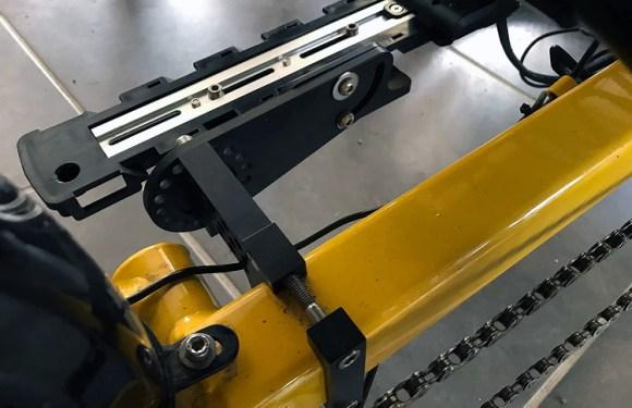 Pam's Terracycle Battery Bracket