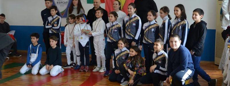 регионалното отборно училищно първенство Бургас Корсар