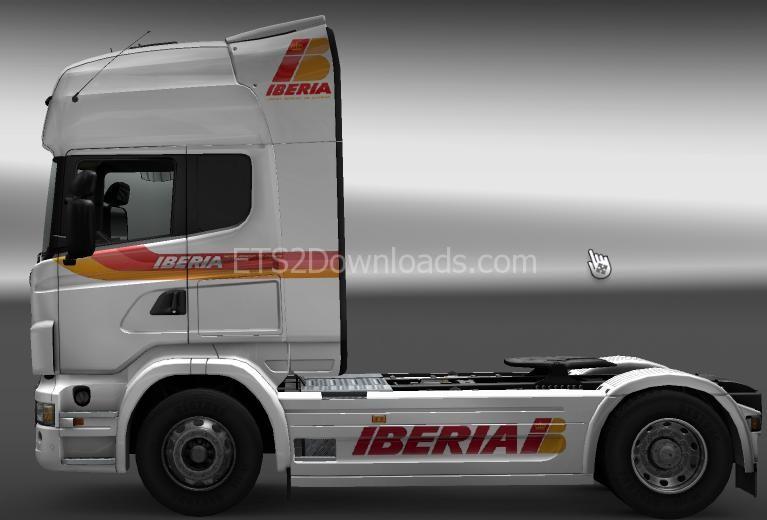 iberia-skin-scania-ets2