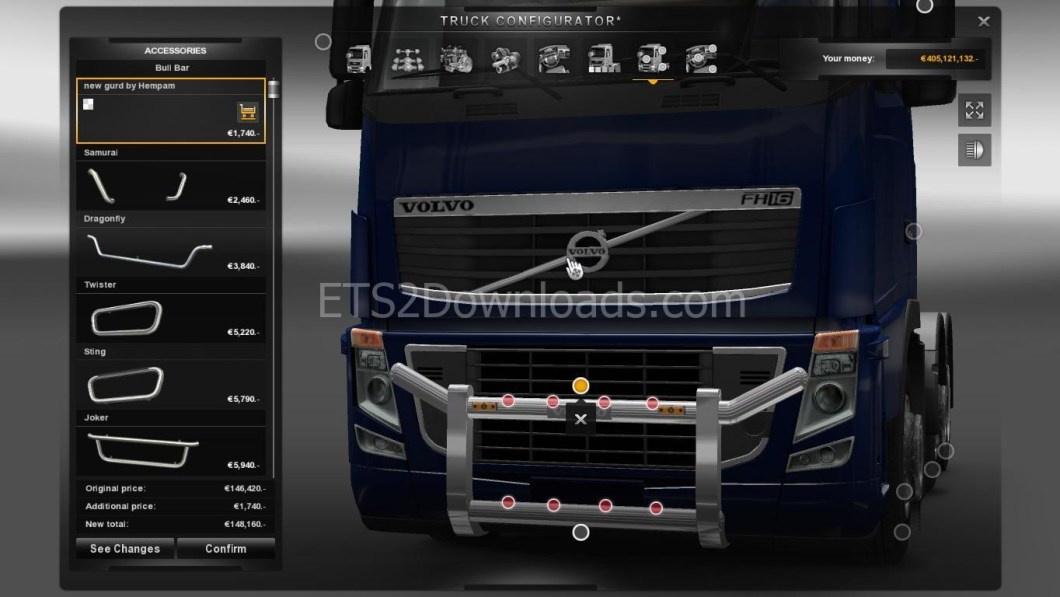 new-grill-for-volvo-fh16-ets2