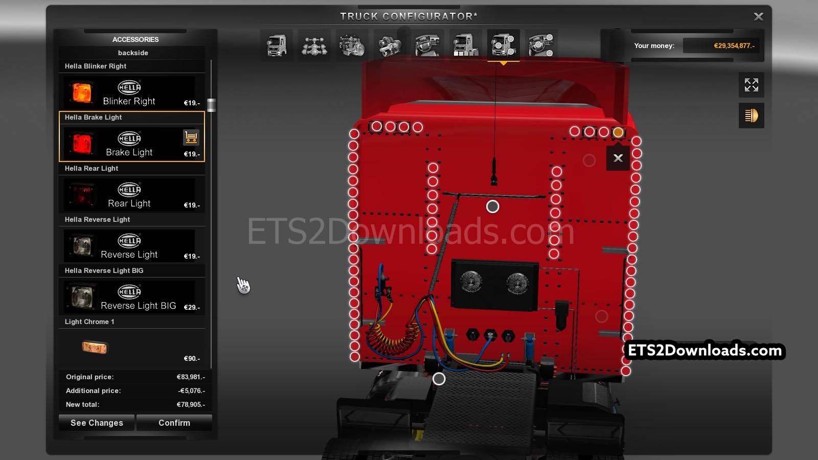 Peterbilt Wiring Harnesses Cab And Dah Parts Tpi Peterbilt 389 ...