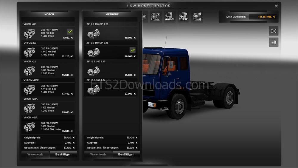 realistic-motors-and-transmission-for-mb-1632-ets2