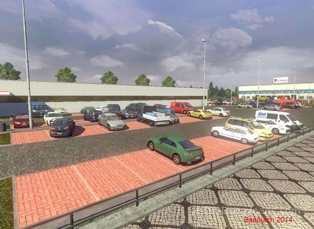 Mega AI Traffic Mod v3 7 - Euro Truck Simulator 2 Mods