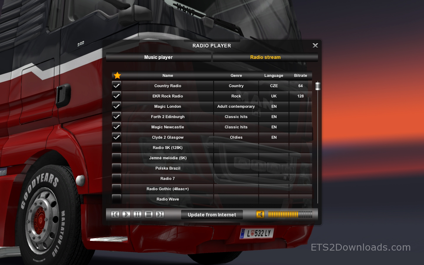 Patch Update ETS2 v1 11: Road to Venice