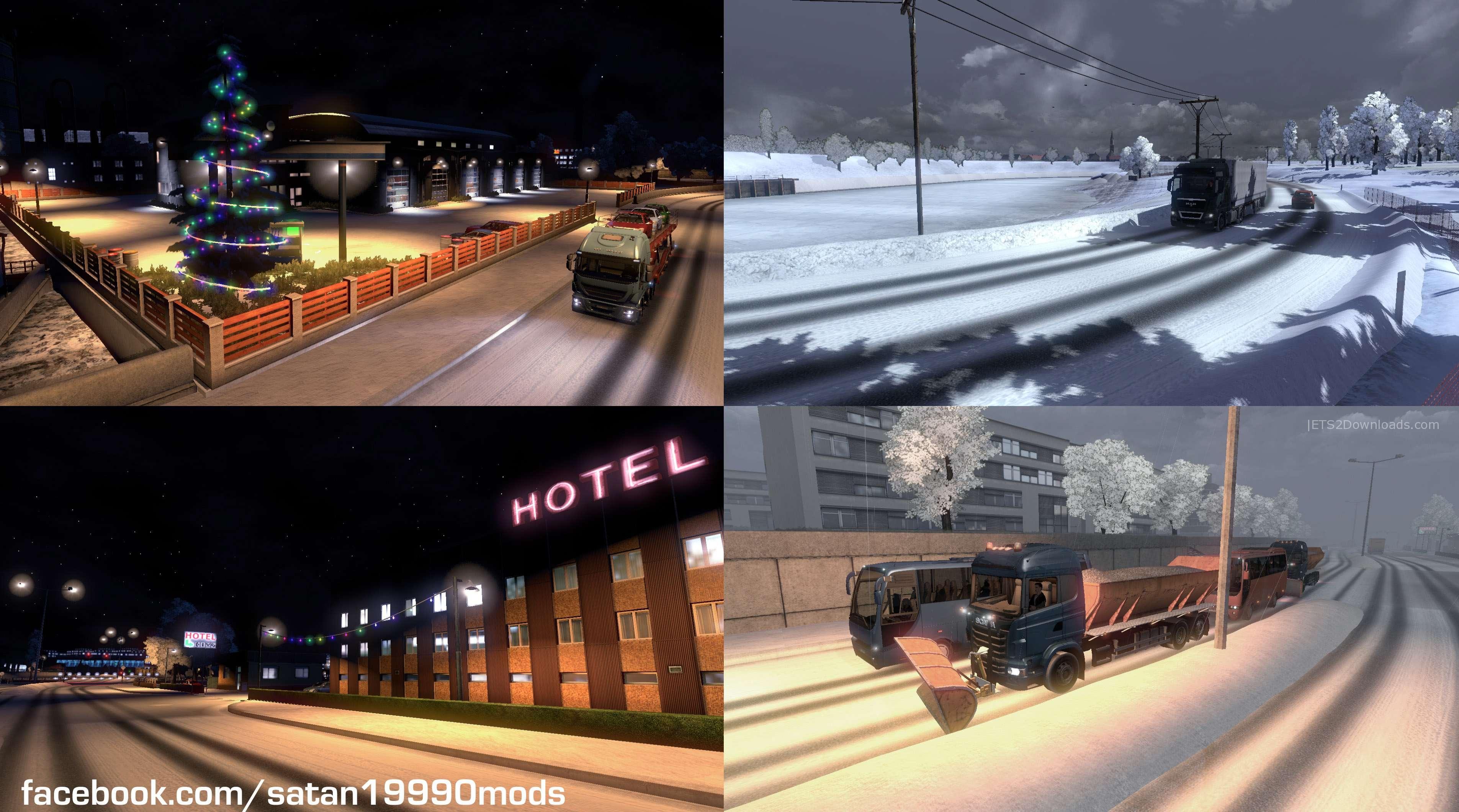 Complete Winter Mod v3 0 - ETS2 Mods