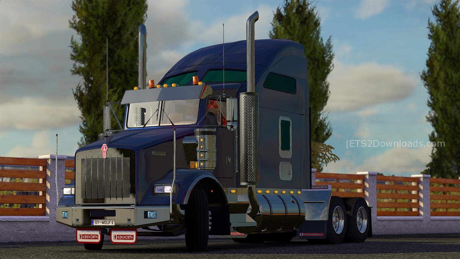 Kenworth T800 V2 2 Final Review Ets2 Mods