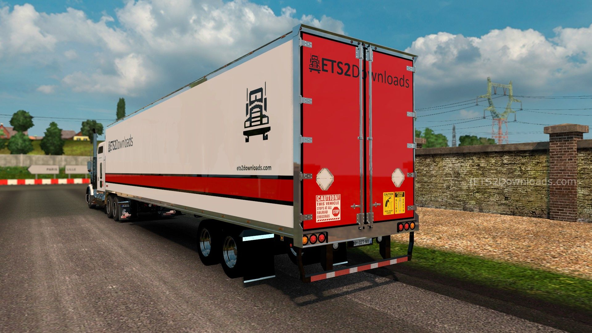 ETS2Downloads Skin Pack for Kenworth T800 - ETS2 Mods