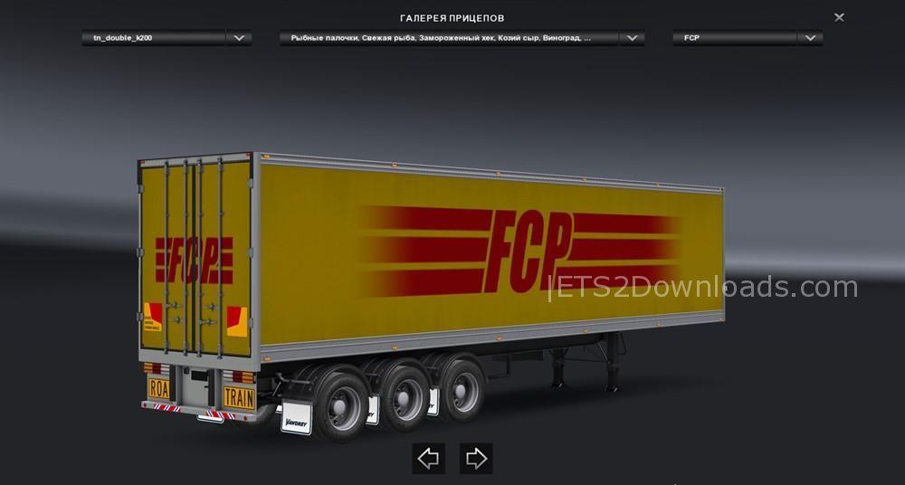 ETS2 Double Trailers v3 0 1 25 x - 1 26 x - ETS2 Mods