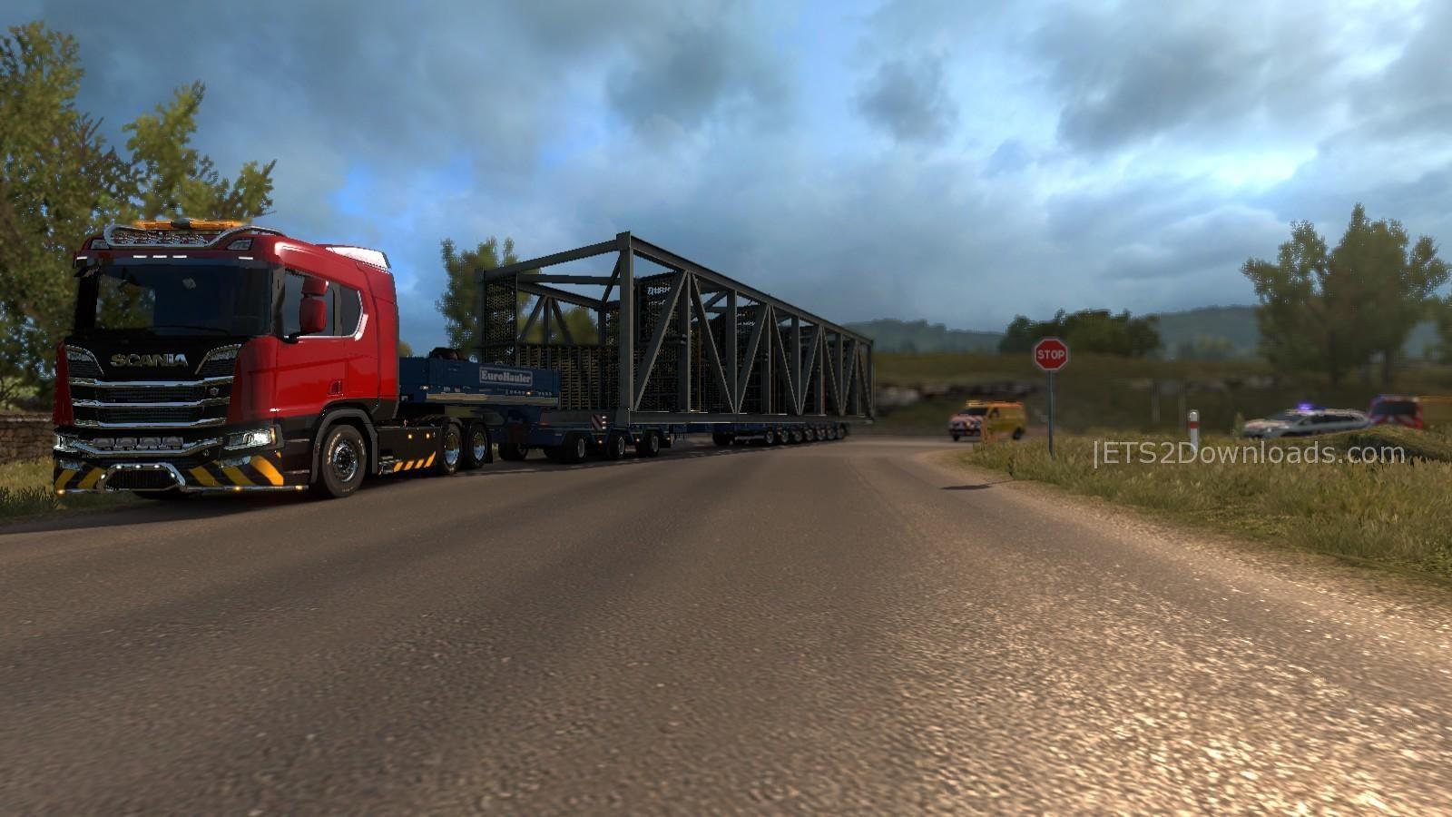 New Routes For DLC Special Transport v1 0 - ETS2 Mods