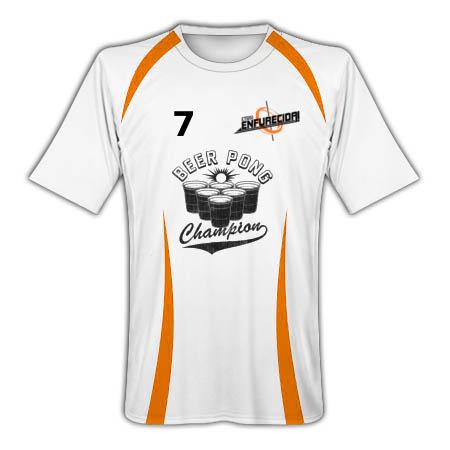 Actual camiseta de la selección de BeerPong a la espera de un patrocinador.