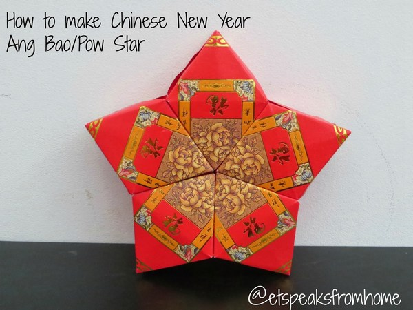 Chinese new year ang bao pow star et speaks from home for Ang pow decoration craft work