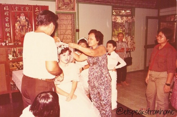 Chinese Wedding Combing Hair Ceremony