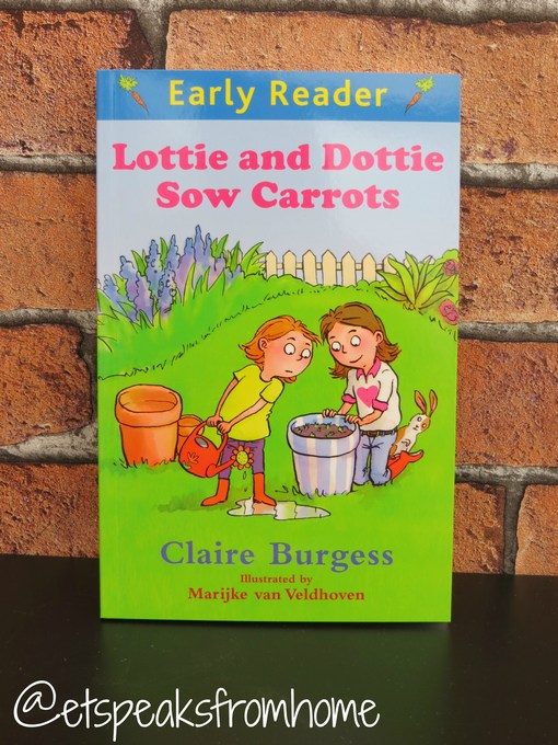 Lottie and Dottie Sow Carrots