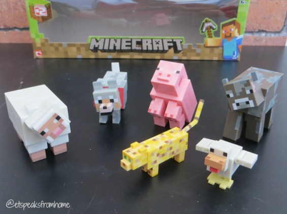 minecraft animals toy