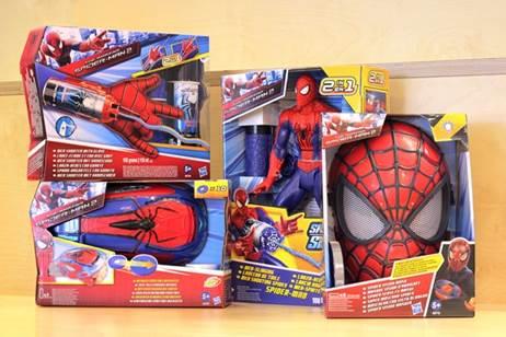 spider-man twitter prize