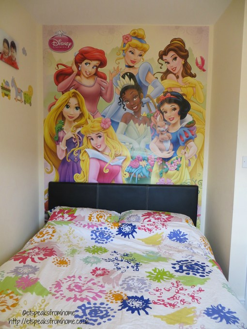 disney princess wall murals