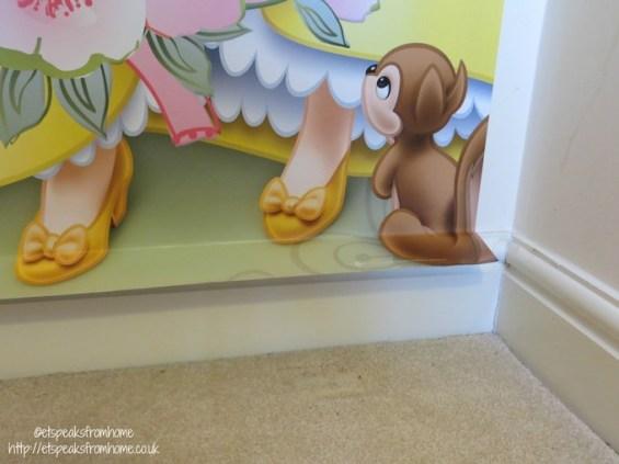 Disney princess wall mural bottom