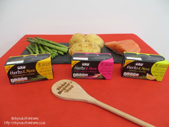 To Cook The Lemon & Thyme Salmon, You Will Need: Oxo Herby Salmon Fillet