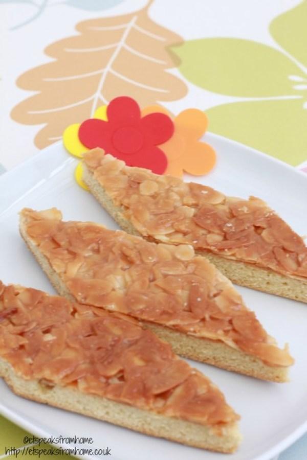 chinese caramel almond crisp cookies