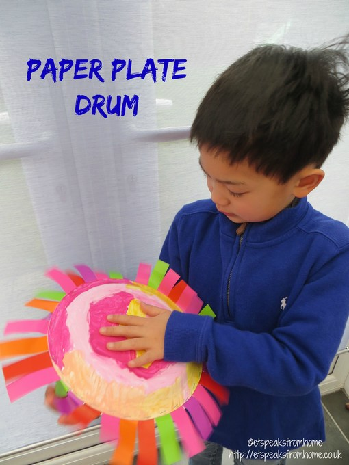 how to make paper plates at home