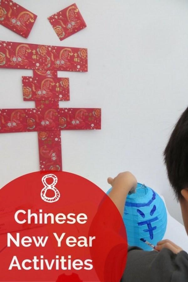 8 Chinese New Year Children Activities
