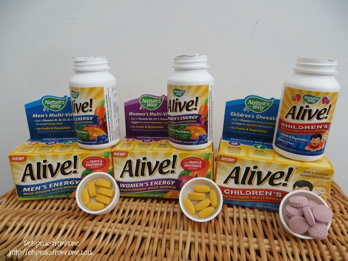 Alive Multi Vitamin Review Et Speaks From Home