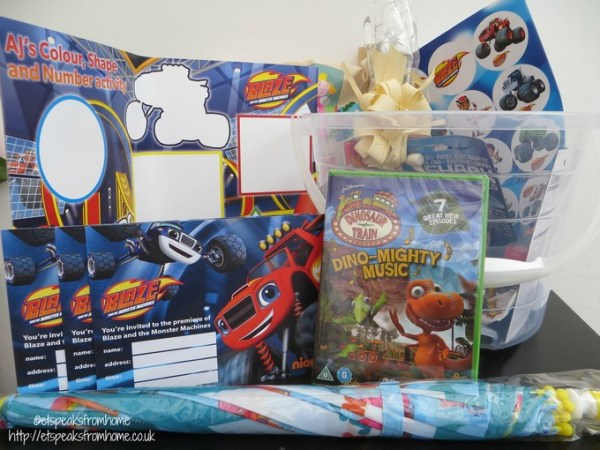 Blaze and the Monster Machines goodies